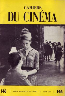 Cover of Cahiers du Cinéma 146 (1963), with a still from THE FIRE WITHIN (Louis Malle, 1963)