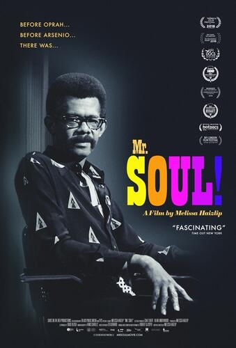 Poster for the film Mr Soul!