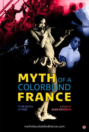 Poster for the film Myth of a Colorblind France